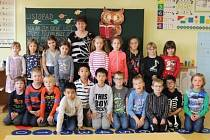 Základní škola Jiráskovo náměstí v Hradci Králové - žáci ze třídy 1. B.