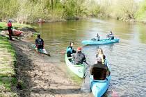 Akce Čištění řeky Orlice – Přírodní park Orlice.