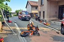 Nehoda v Červeném Kostelci