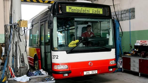 Autobus hradecké MHD