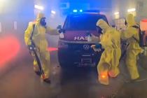 Královéhradečtí hasiči ukázali svůj tanec
