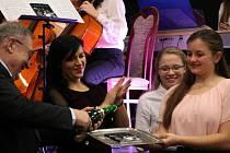 Křest CD střezinského Smiling String Orchestra.