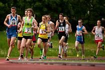 Z republikového šampionátu v běhu na deset kilometrů na stadionu TJ Sokol Hradec Králové.