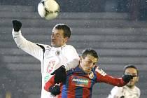 Pohár České pošty ve fotbale - 1. zápas osmifinále: FC Hradec Králové - FC Viktoria Plzeň.