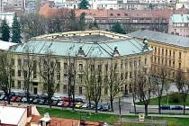 Jedna z budov hradecké university