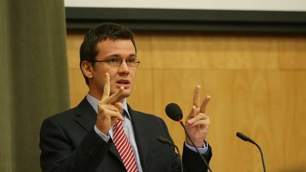 Ministr Ondřej Liška v Hradci Králové