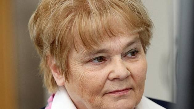 Hana Orgoníková při on-line rozhovoru.