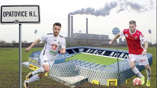 Na společném stadionu v Opatovicích nad Labem se fotbalisté Hradce Králové a Pardubic asi nepotkají.