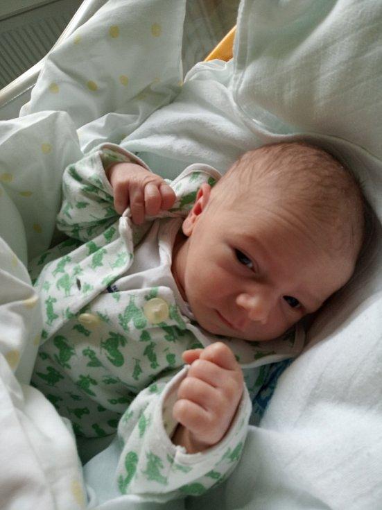 VIKTOR KRUŠINA se narodil 20. února v 11.52 hodin. Měřil 50 cm a vážil 2920 g. Svým příchodem na svět velmi potěšil své rodiče Janu a Pavla Krušinovy z Hradce Králové. Doma se těší dvouletý bráška Kryštof.