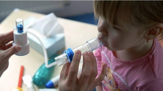Slaným dětem se bude lépe dýchat