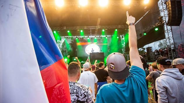Festival Hip Hop camp 2019 na hradeckém letišti