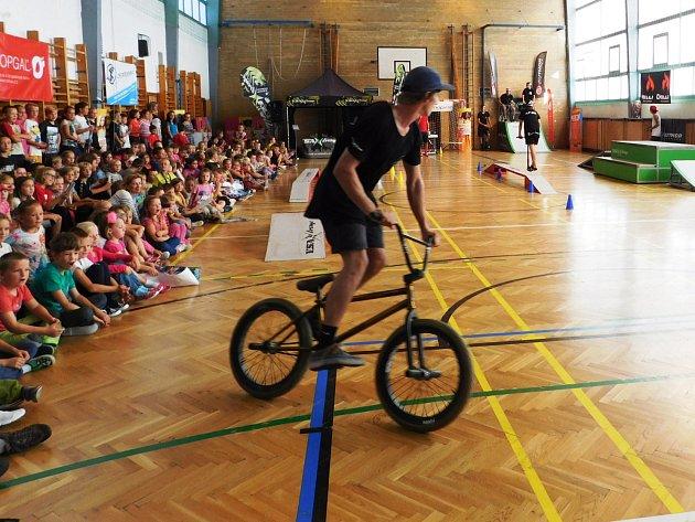 Jízdou chtějí motivovat děti k pohybu