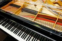 Petrof je největším výrobcem pianin v Evropě