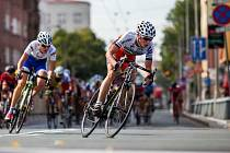 Cyklistický závod.