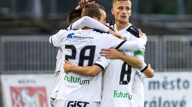 Fotbalová národní liga: FC Hradec Králové - 1. SC Znojmo FK.