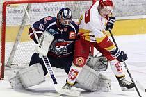 I. hokejová liga: HC VCES Hradec Králové - Piráti Chomutov.