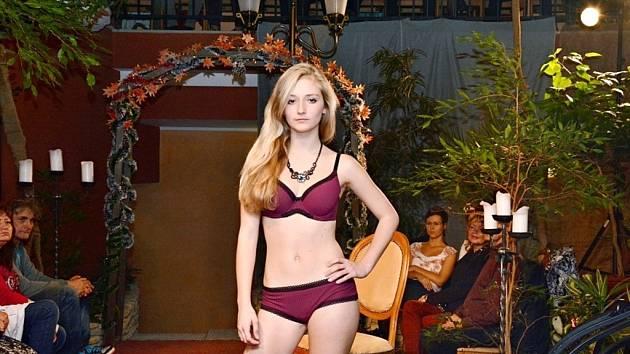 Charitativní přehlídka Setkání s módou v hotelu U královny Elišky v Hradci Králové.