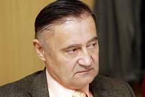 Povolební schůzka ČSSD.Vladimír Dryml.