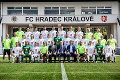 Focení fotbalistů FC Hradec Králové.