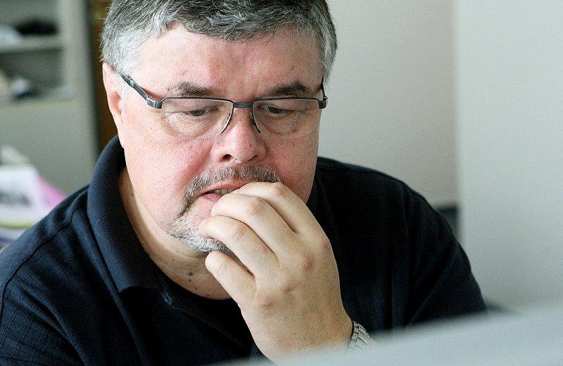 Ředitel Klicperova divadla Ladislav Zeman