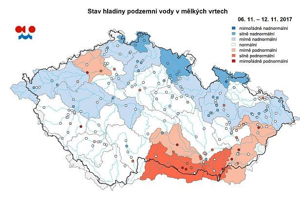 Deste Konecne Zvedly Hladiny Podzemnich Vod Hradecky Denik