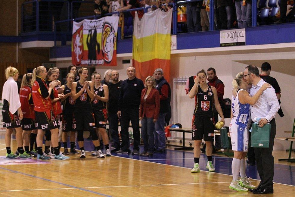 Bonver ŽBL: Trutnov - Hradec Králové.