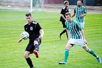 Krajská fotbalová I. A třída: SK Bystřian Kunčice - TJ Sokol Třebeš.