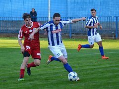 Krajský přebor ve fotbale: FK Náchod - RMSK Cidlina Nový Bydžov.