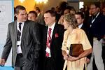Z XIII. volební konference Věcí veřejných v hotelu Černigov v Hradci Králové.