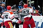 Extraliga hokej Mountfield Hradec Králové vs. Liberec