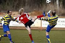 Fotbal, divize C: Živanice - AFK Chrudim (15. března 2009)