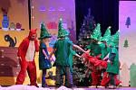 Na Velké vánoční slavnosti chumelilo. Ale jen uměle