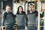 Nové oblečení pro zaměstnance hradeckého dopravního podniku.