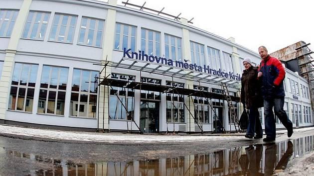 Rekonstrukce Centra celoživotního vzdělávání z bývalé továrny Vertex.