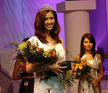 Lucie Blažková, miss Europe Junior 2007