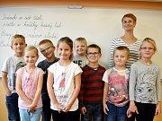 Základní škola Prasek - žáci 1. třídy.