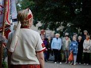 Památný den sokolstva - uctění památky Sokolskou župou Orlickou v Hradci Králové.