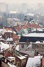 Smogová situace na Královéhradecku.