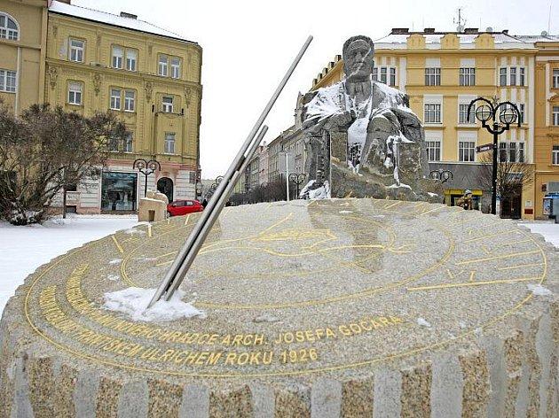 Památník Františku Ulrichovi.