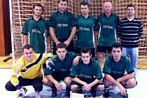 Cheff team na halovém fotbalovém turnaji Čechie Cup v Hlušicích.