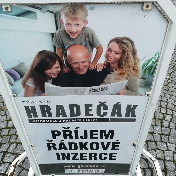 Obě hradecká infocentra přijímají inzerci do týdeníku Hradečák.