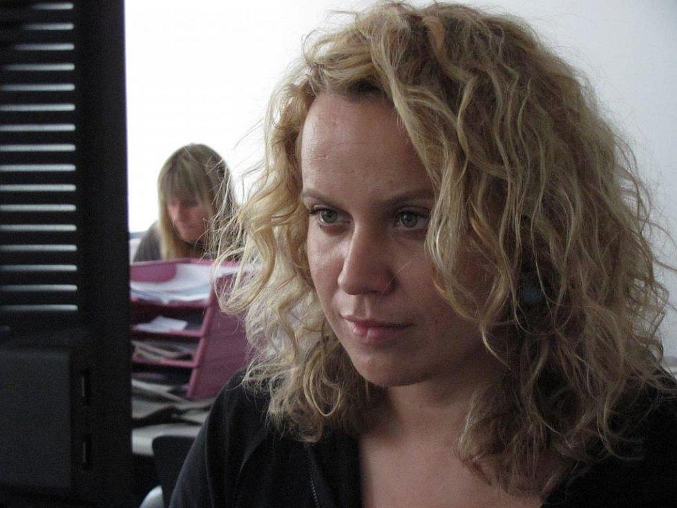 Ředitelka Open air programu při 17. ročníku mezinárodního festivalu Divadlo evropských regionů Dominika Špalková.