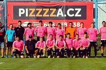 Velmi dobrý tým dokázal poskládat sportovní manažer David Buřil (dole v tmavém).
