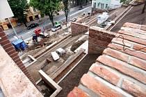 Stavba schodiště Kozinka