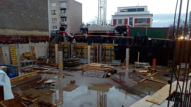 Obchodně kancelářský objekt v Lipkách by měl být dokončen v únoru 2019.