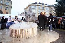 Hradecká radnice odhalila pomník starosty Františka Ulricha
