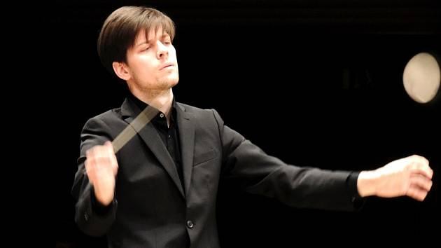 Závěrečný koncert dirigentských kurzů ve Filharmonii Hradec Králové.