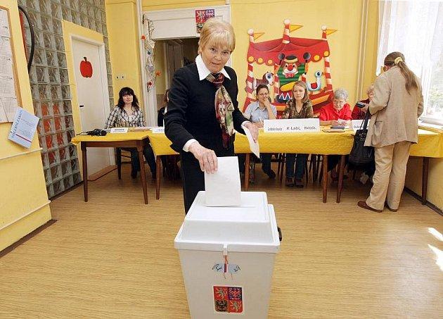 Lídři politických stran u voleb: Hana Orgoníková (ČSSD).
