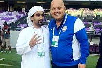 Se šejkem a majitelem klubu Fujairah SC je Jaroslav Veselý stále v kontaktu, jsou dobří přátelé.