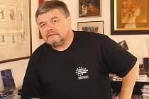 Ladislav Zeman, ředitel Klicperova divadla v Hradci Králové.